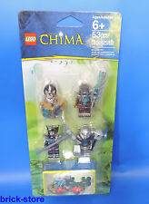 LEGO ® CHIMA SET 850910/Personaggi Set con cristallo nascondiglio-Accessori-Set