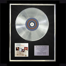 DAVID BOWIE THE COLLECTION CD PLATINUM DISC VINYL LP FREE SHIPPING TO U.K.