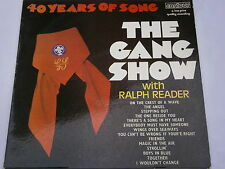 40 Years of Song Ralph Reader Baden Powell Boy Scout LP Record 33 rpm
