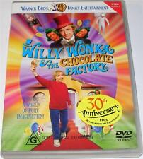 Willy Wonka And The Chocolate Factory (DVD, 1999) region 4 (Gene Wilder) NTSC