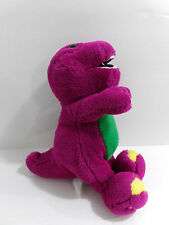 "9"" Barney & Friends Plush Stuffed Purple Barney Dinosaur Toy Animal"
