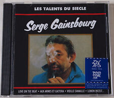 SERGE GAINSBOURG / LES TALENTS DU SIECLE / 16 TRACK COMPILATION / POLYGRAM 1992