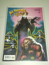 BIG TROUBLE IN LITTLE CHINA #5 BOOM STUDIOS COMICS NM (9.4)