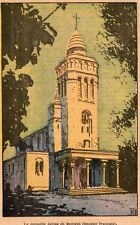 IMAGE 1930 PRINT BAMAKO NOUVELLE EGLISE NEW CHURCH MALI