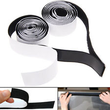 2 in1 Self Adhesive Tape Hook and Loop Fastener Extra Sticky Back 1m x 20mm