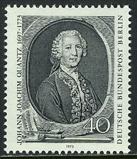 Germany-Berlin 9N342, MNH. Johann Joachim Quantz, Composer and Flutist, 1973