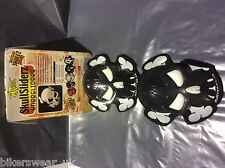MOTRAX Motorcycle/Motorbike Protection Knee Slider Skull Black as Pair