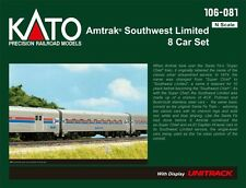 "kato 106-081  ""SOUTHWEST LIMITED"" AMTRAK 8 car set"