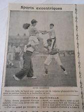 Sports Excentriques Joutes Terrestres Image Print 1909