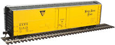 NICKEL PLATE RR GARX 50' PLUG DOOR REEFER CAR BY ATLAS MODEL RR HO-SCALE -SAVE $