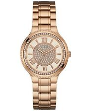 GUESS  Women's Rose Gold-Tone Steel Bracelet Watch 37mm U0637L3