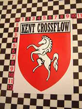 Kent Crossflow Engine Sticker - Cortina Escort  Westfield Lotus 7 Capri Caterham