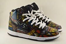 """Nike SB x CNCPTS Dunk High """"Stained Glass"""" Size 8.5 Low Mid Concepts"""
