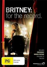 Britney - For The Record (DVD, 2009) REGION 4 PAL - NM - LN ...............LOC3