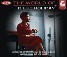The World Of Billie Holiday Songs 2 CD 1950s Music