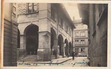 SUISSE SCHWEIZ GENEVE photo-carte rue timbrée 1915