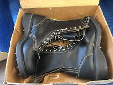 """12"""" WESCO TIMBER CALK BOOTS SIZE (9 D) - LACE -TO- TOE"""