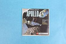 VINTAGE VIEW-MASTER 3D REEL PACKET B658 PROJECT APOLLO MAN ON THE MOON COMPLETE