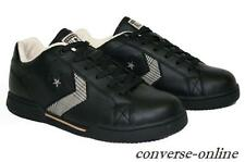 Womens Girl CONVERSE All Star EV PRO 2 K5 BLACK LEATHER Trainers Shoes UK SIZE 5