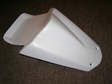 Aprilia RS125 seat cowl New in White, 06 -13  RS125 Seat Cowl Inc Bolts