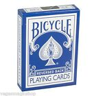 Blue Ice Reversed Back Deck Bicycle Playing Card Poker Size USPCC + Magic Tricks