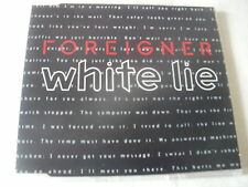 FOREIGNER - WHITE LIE - UK CD SINGLE