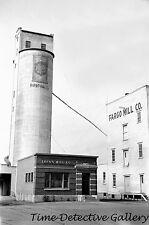 Grain Elevator & Flour Mill, Fargo, North Dakota -1939- Historic Photo Print