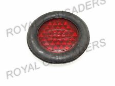 JAWA 353 354 359 360 YEZDI REAR MUDGUARD RED COLOUR RUBBER BASE REFLECTOR (code2