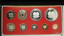 Papua New Guinea_ Proof Set_ Franklin mint_1980