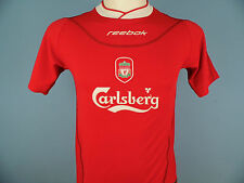 Authentic Liverpool 2002-04 Home Shirt Size Large Junior (30/32) Red