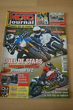 MOTO JOURNAL N°1903 HONDA VT 750 S KAWASAKI Z 750 DUCATI 796 MONSTER SHOVEL 2010