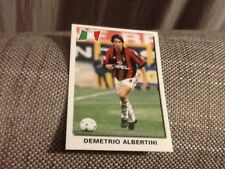 #81 Demetrio Albertini AC Milan / Panini Super Football 99 sticker 1999 Italy