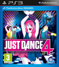 JUST DANCE 4 ~ PS3 (in Great Condition)