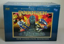 TOYNAMI ROBOTECH THE MASTERPIECE COLLECTION NEW GENERATION BOOKENDS