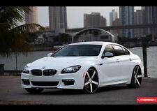 BMW 6 SERIES VOSSEN WHEELS NEW A3 CANVAS GICLEE ART PRINT POSTER FRAMED