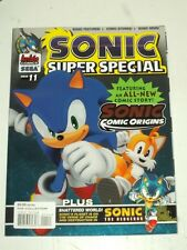 SONIC SUPER SPECIAL #11 ARCHIE COMICS SEGA US MAGAZINE SONIC THE HEDGEHOG