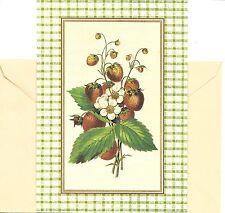 Strawberry Plant Strawberries Friendship Hallmark Hawthorne Manor Greeting Card