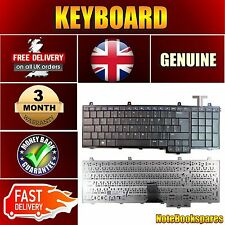 For DELL INSPIRON 1750 DELL P/N 0DDW68 Laptop Keyboard UK Layout Matte Black