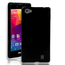 For BLU Neo X (N070U) TPU Silicone Soft Gel Case + Screen Protector