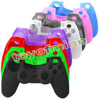 Silicone Rubber Soft Skin Gel Cover Case for Sony Playstation 4 PS4 Controller