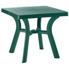 "Compamia Viva Resin Square Dining Table 31"" Green ISP168-GRE Dining Table NEW"