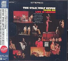The Stax/Volt Revue Volume 1 Live In London CD NEW SEALED Obi Strip Otis Redding