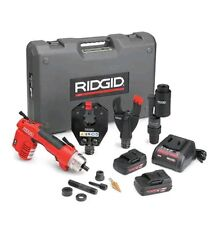 RIDGID 52093 RE 6 Electrical Tool Kit w/ Cutter, Crimp and Punch Heads