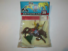 VINTAGE BRITAINS HERALD SWOPPETS No 635 WOUNDED MOUNTED COWBOY MISB - 1960s 1/32