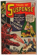 MARVEL Comics TALES OF SUSPENSE #46 1st CRIMSON DYNAMO 1963 VFN- IRON MAN HIGH