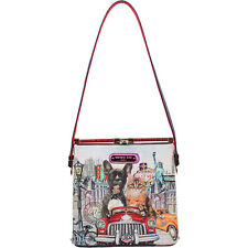 Nicole Lee City Drive Print Shoulder Bag - City Drive