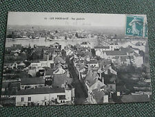 cpa 49 carte postale village maine et loire LES PONTS DE CE vue générale 1908
