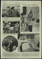Soviet Jet Fighters Attack French Skymaster Airliner 1952 1 Page Photo Article