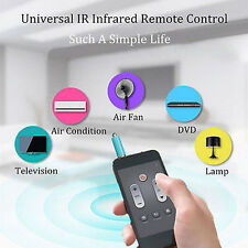 TV STB Air Conditioner IR Infrared Remote Control Black For Universal Smartphone