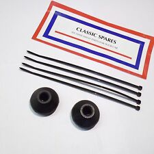FORD CONSUL AND ZEPHYR AND ZODIAC MK 2  NEW PAIR OF TRACK ROD END BOOTS (NJ35)